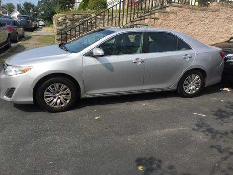 2012 Toyota Camry for sale at Welcome Motors LLC in Haverhill MA