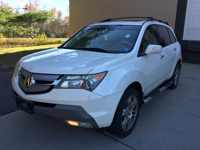 Acura MDX SHAWD WTech WRES In Haverhill MA Welcome Motors LLC - Acura mdx 2007 for sale