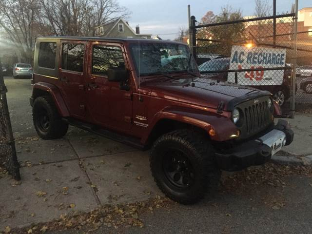 2008 Jeep Wrangler Unlimited For Sale At Welcome Motors LLC In Haverhill MA