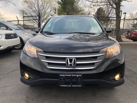 2012 Honda CR-V for sale at Welcome Motors LLC in Haverhill MA