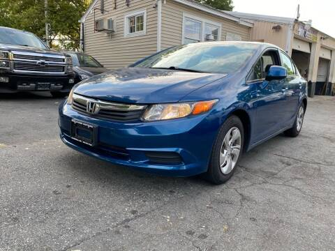 2012 Honda Civic for sale at Welcome Motors LLC in Haverhill MA