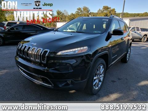 2018 Jeep Cherokee for sale in Cockeysville, MD