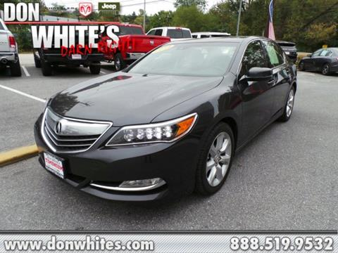 2014 Acura RLX for sale in Cockeysville, MD