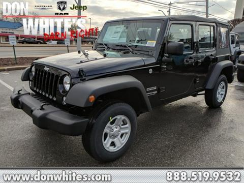 2018 Jeep Wrangler Unlimited for sale in Cockeysville, MD