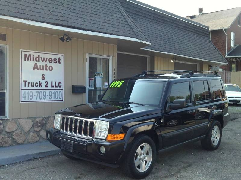 2007 Jeep Commander For Sale At Midwest Auto U0026 Truck 2 LLC In Mansfield OH