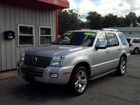 2010 Mercury Mountaineer for sale in Mansfield, OH