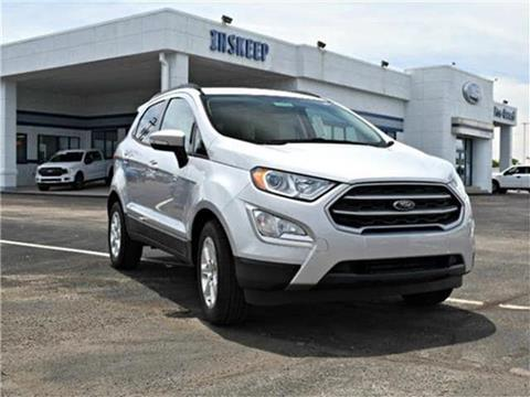 2019 Ford EcoSport for sale in Greenfield, IN