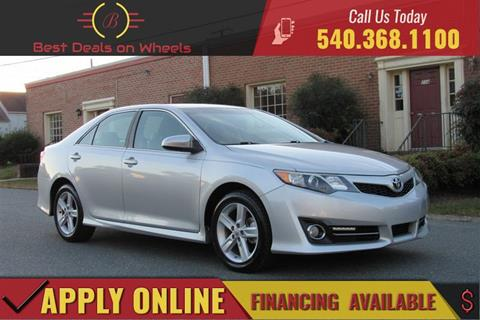 2012 Toyota Camry for sale in Fredericksburg, VA
