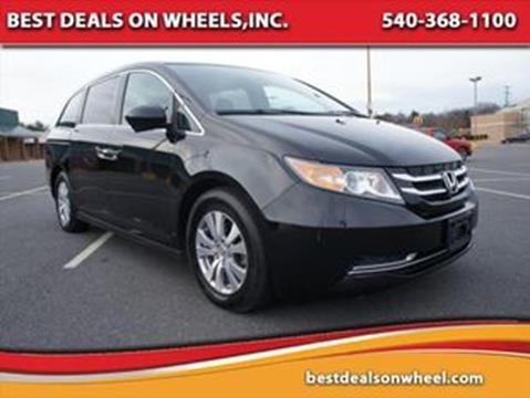 2015 Honda Odyssey for sale in Fredericksburg, VA