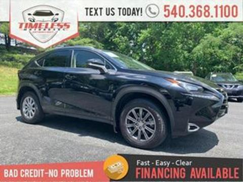 2015 Lexus NX 200t for sale in Stafford, VA