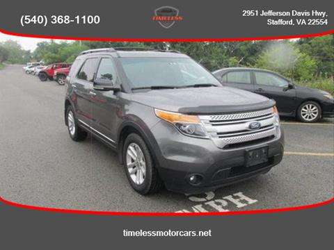 2011 Ford Explorer for sale in Stafford, VA