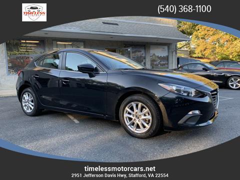 2016 Mazda MAZDA3 for sale in Stafford, VA