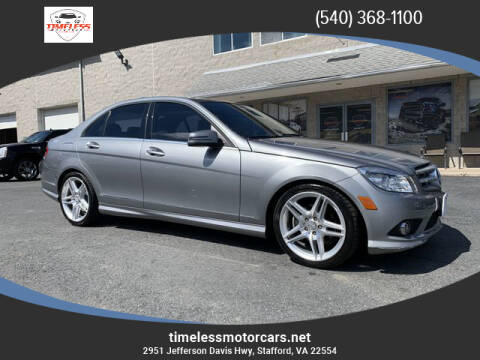 2010 Mercedes-Benz C-Class for sale at TIMELESS MOTORCARS in Stafford VA