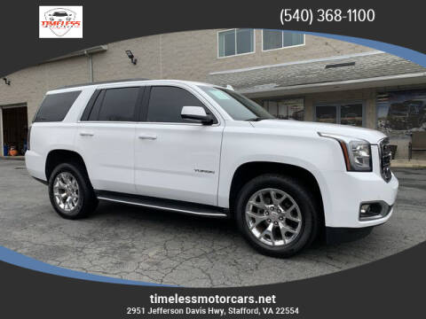 2016 GMC Yukon SLE for sale at TIMELESS MOTORCARS in Stafford VA