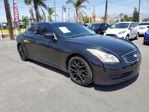 G37 Coupe For Sale >> Infiniti G37 Coupe For Sale In Fontana Ca Viza Auto Group