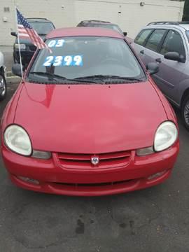 2002 Dodge Neon for sale in Redford, MI