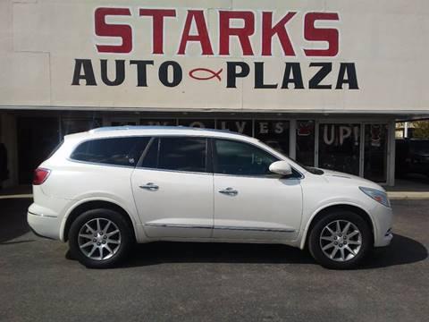 2013 Buick Enclave for sale at Starks Auto Plaza in Jonesboro AR