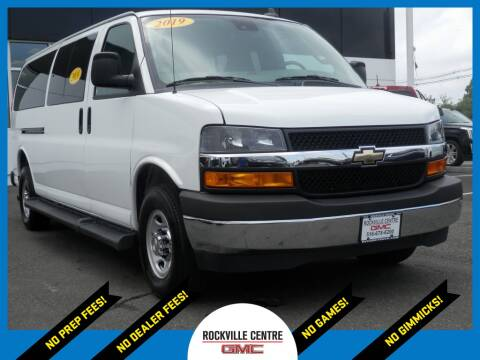 2019 Chevrolet Express Passenger for sale at Rockville Centre GMC in Rockville Centre NY