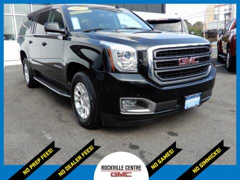 2017 GMC Yukon XL for sale at Rockville Centre GMC in Rockville Centre NY