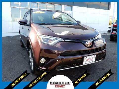 2018 Toyota RAV4 for sale at Rockville Centre GMC in Rockville Centre NY