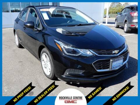2017 Chevrolet Cruze for sale at Rockville Centre GMC in Rockville Centre NY