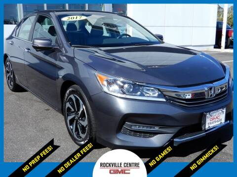 2017 Honda Accord for sale at Rockville Centre GMC in Rockville Centre NY