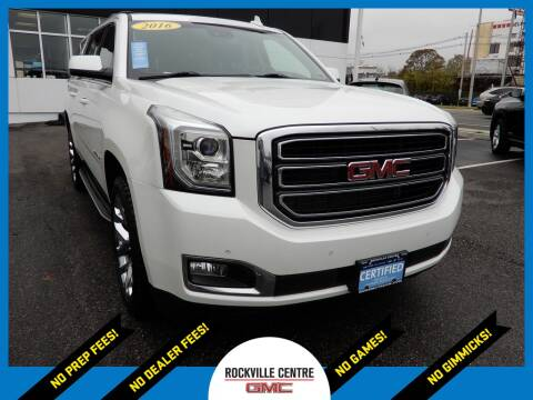 2016 GMC Yukon XL for sale at Rockville Centre GMC in Rockville Centre NY