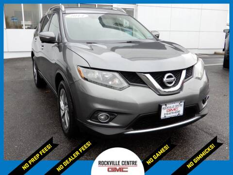 2014 Nissan Rogue for sale at Rockville Centre GMC in Rockville Centre NY