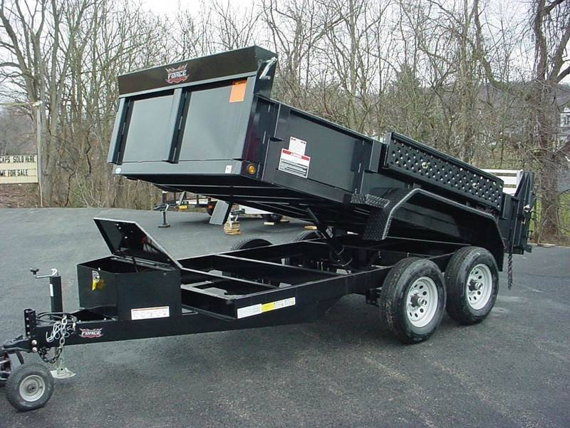 Superbly 2019 Force 6X12 Dump Trailer 9800 Gvw In Lockport NY - WNY RC75