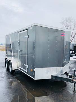 2018 American Hauler 7x14 ENCLOSED for sale in Lockport, NY