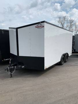 2020 Cargo Mate 8.5 x 16 White Out for sale in Lockport, NY