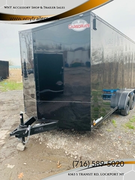 2020 Cargo Mate 7x16 Black Out Pkg for sale in Lockport, NY