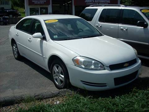 2006 Chevrolet Impala for sale in Sutton, MA