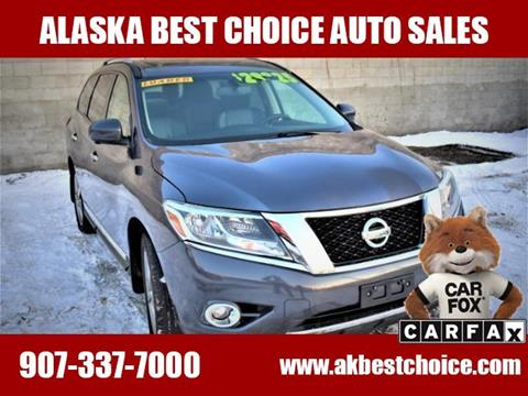 2014 Nissan Pathfinder for sale in Anchorage, AK
