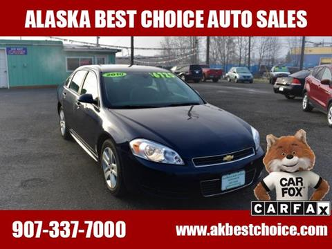 2010 Chevrolet Impala for sale in Anchorage, AK