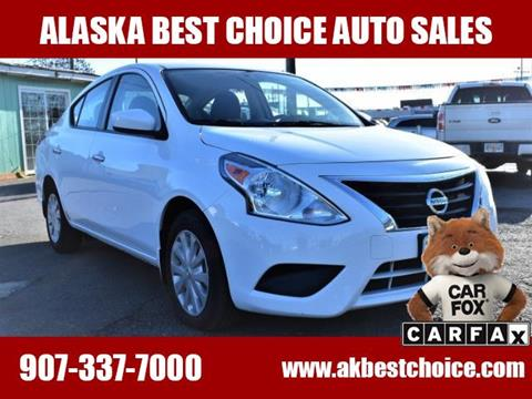 2016 Nissan Versa for sale in Anchorage, AK