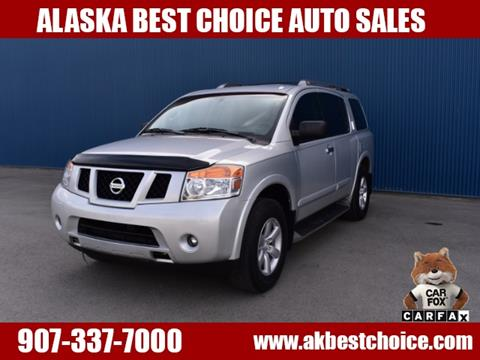 2013 Nissan Armada for sale in Anchorage, AK