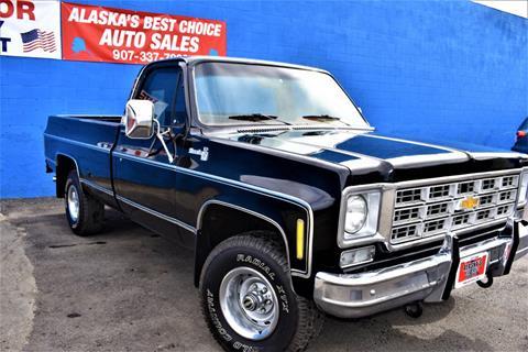 1978 Chevrolet Silverado 1500 SS Classic for sale in Anchorage, AK