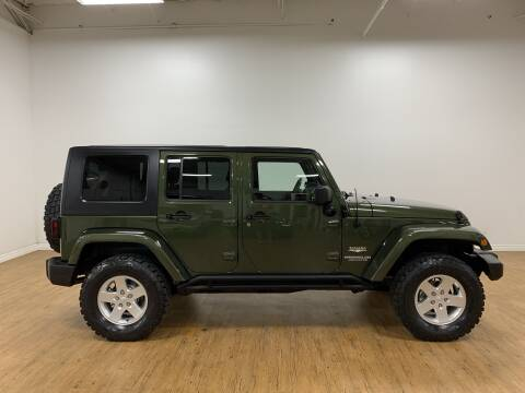 2007 Jeep Wrangler Unlimited Sahara for sale at Pro Toyz in Saint Petersburg FL