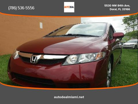 2011 Honda Civic for sale in Doral, FL
