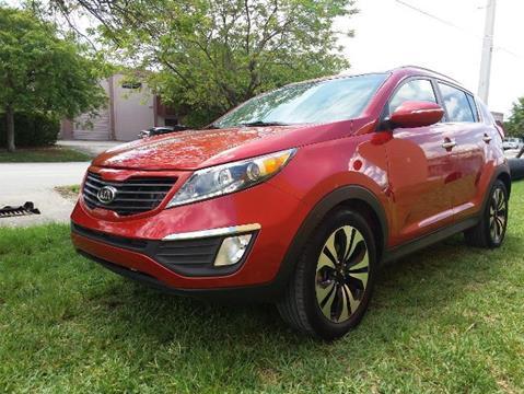 2012 Kia Sportage for sale in Doral, FL