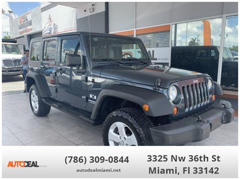 2007 Jeep Wrangler Unlimited for sale in Doral, FL