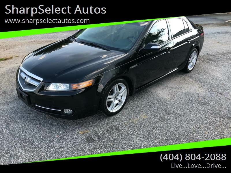 Acura TL In Jonesboro GA SharpSelect Autos - 2007 acura tl for sale