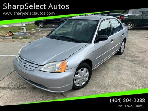 2001 Honda Civic for sale in Jonesboro, GA