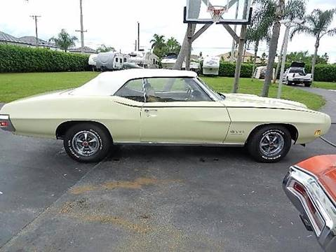 1970 Pontiac GTO for sale in Lake Worth FL