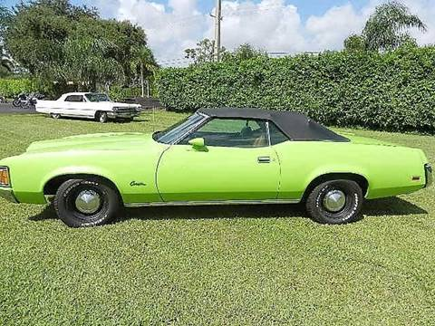 1971 Mercury xr-7 convertible for sale in Lake Worth FL