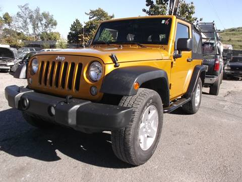 2014 Jeep Wrangler for sale in Temple Hills, MD