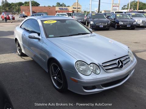 2007 Mercedes-Benz CLK for sale in Attleboro, MA