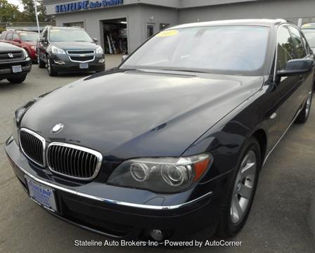 2007 BMW 7 Series for sale in Attleboro, MA