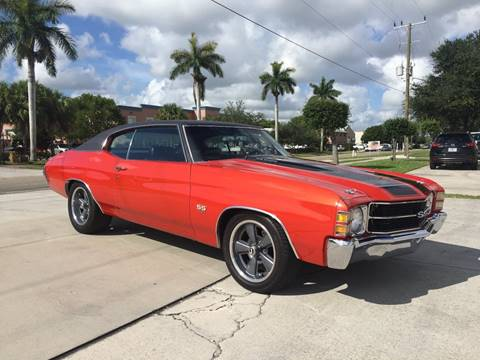 Chevrolet Chevelle For Sale Carsforsale Com